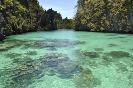 This place is in Elnido Palawan.